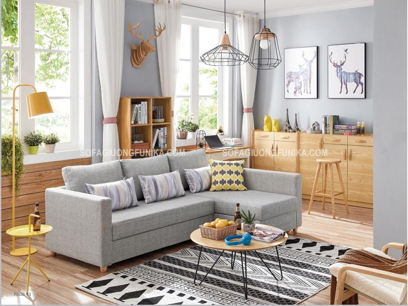 Vừa có thể là ghế sofa, vừa có thể là chiếc giường êm ái, một chiếc ghế sofa giường đa năng sẽ hội tụ những tính năng nó trong một