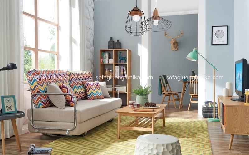 Từ khi ra mắt trên thị trường, ghế sofa giường đa năng đã chiếm được cảm tình của rất nhiều người