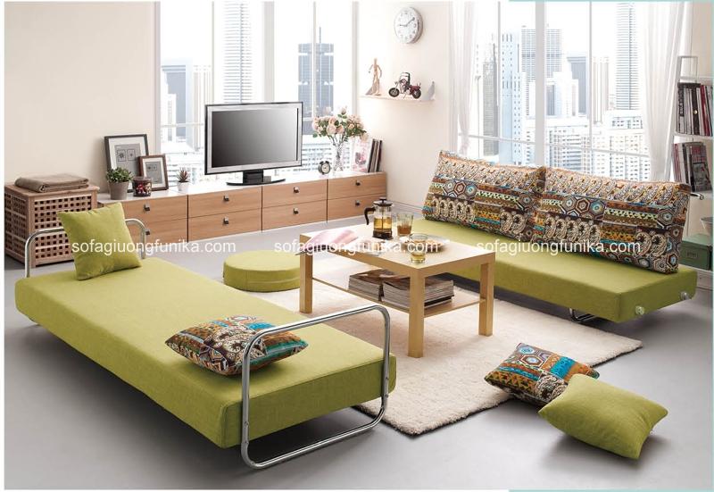 Rất nhiều mẫu sofa giường nhập khẩu màu xanh cho các bạn thoải mái lựa chọn