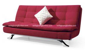 Phần vải bọc chính là một điểm sáng của dòng sofa giường đa năng đầy tiện ích này