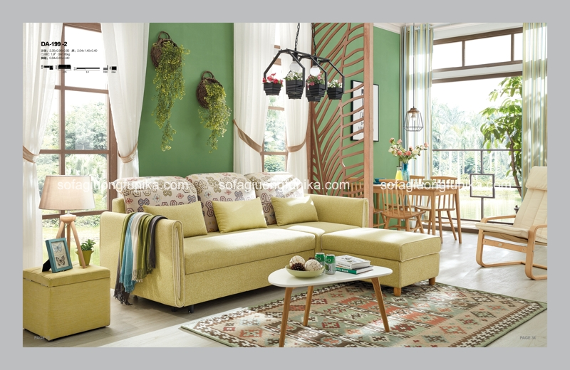 Dáng vẻ thời trang của sofa giường đa năng cuốn hút mọi ánh nhìn
