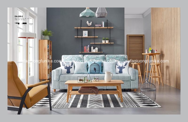 Sắc màu tươi sáng, trẻ trung của dòng sản phẩm sofa giường đa năng