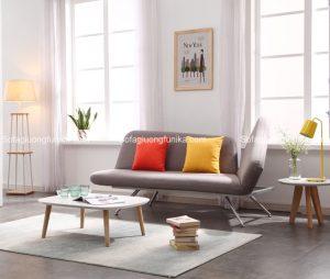 Thêm một mẫu ghế sofa giường kiểu dáng vô cùng phong cách