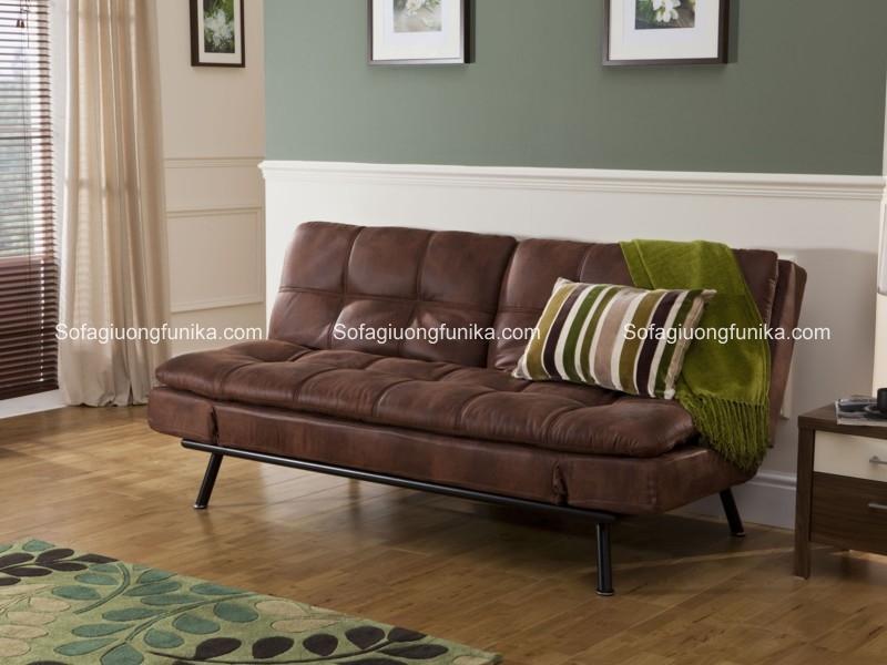 Hãy chọn sofa giường da cho phòng khách ấn tượng của bạn