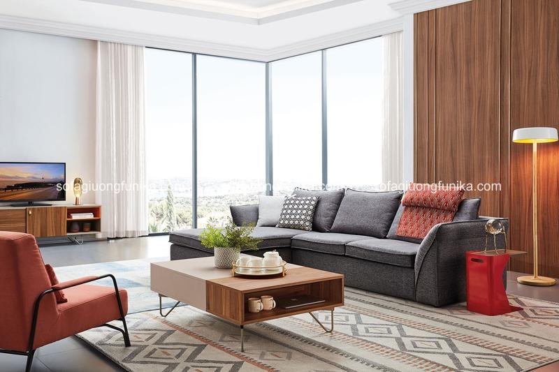 Nếu phòng khách của bạn rộng rãi, hãy cân nhắc lựa chọn chiếc bàn trà này