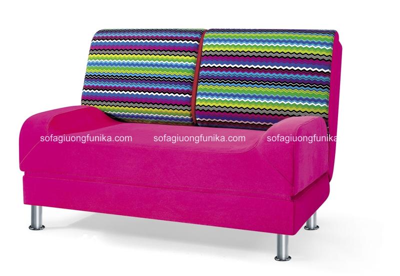 Đây cũng là một mẫu sofa giường đa năng kẻ sọc đáng bỏ tiền ra mua